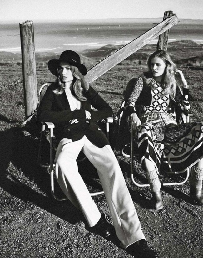 VOGUE PARIS Andreea Diaconu & Edita Vilkeviciute by Mikael Jansson. May 2014, www.imageamplified.com, Image Amplified (4)