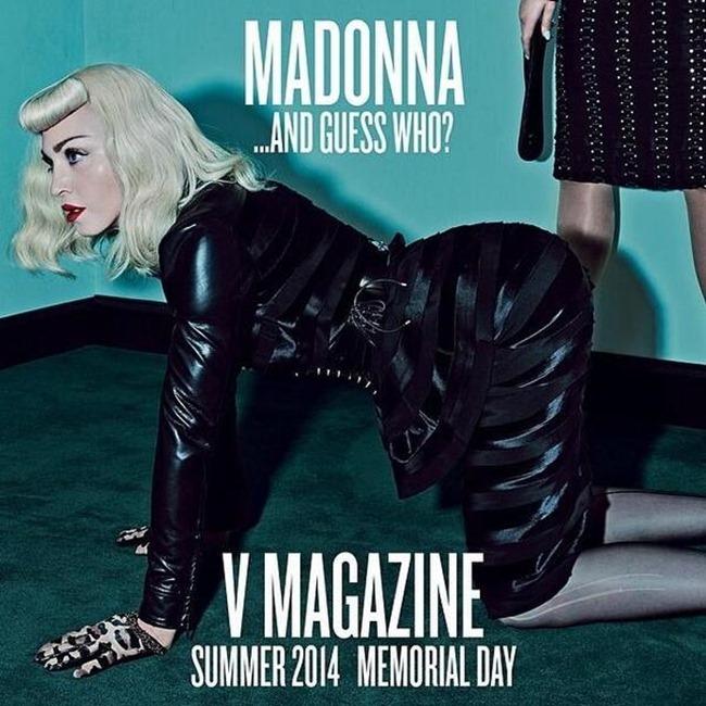 Madonna y Katy para V Magazine
