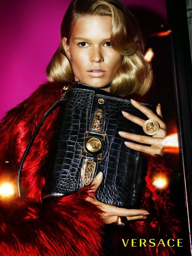 PREVIEW Anna Ewers & Stella Tennant for Versace Fall 2014 by Mert & Marcus. www.imageamplified.com, Image Amplified (2)