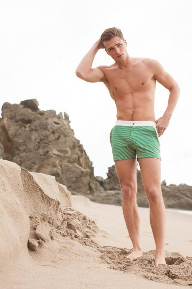82d4a20ee1 CAMPAIGN Edward Wilding for Mr. Turk Swimwear Summer 2014.  www.imageamplified.com