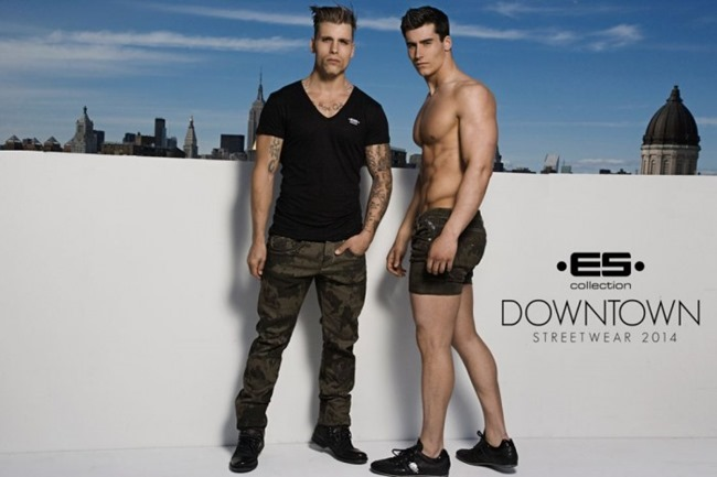 CAMPAIGN Richard Rocco, Brandon Moore, Jared Prudoff-Smith & Franco Noriega for ES Collection Downtown Streetwear Summer 2014 by Rick Day. www.imageamplified.com, Image Amplified (20)