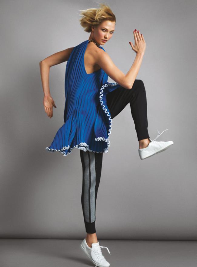 VOGUE MAGAZINE Karlie Kloss in Midnight Run by Inez & Vinoodh. Camilla Nickerson, June 2014, www.imageamplified.com, Image Amplified (6)