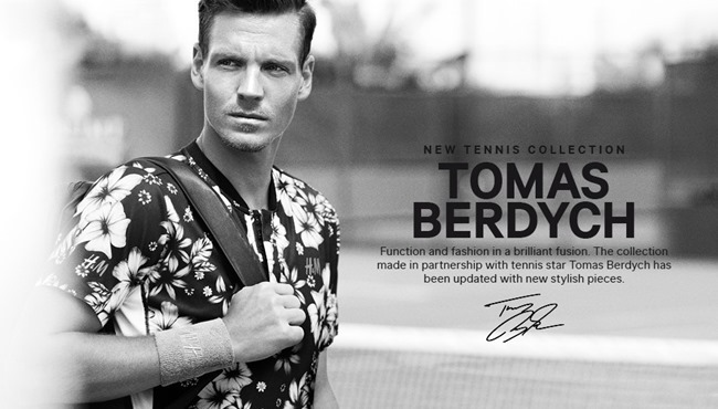 CAMPAIGN Tomas Berdych & H&M New Tennis Collection Summer 2014. www.imageamplified.com, Image Amplified (4)