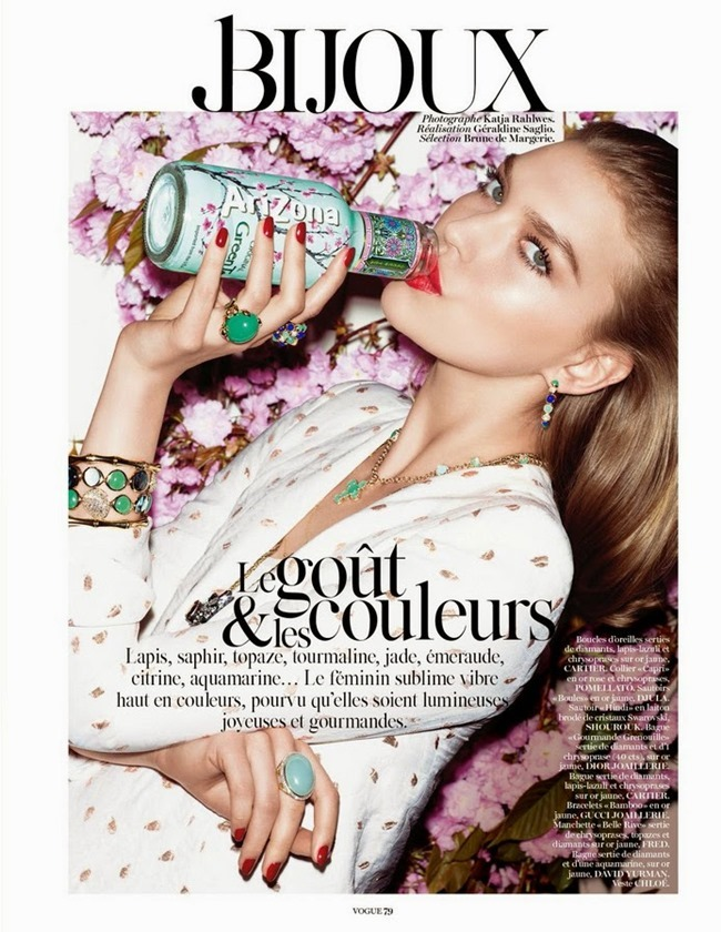 VOGUE PARIS Arizona Muse in Le Gout & Les Couleurs by Katja Rahlwes. Geraldine Saglio, July 2014, www.imageamplified.com, Image Amplified (5)