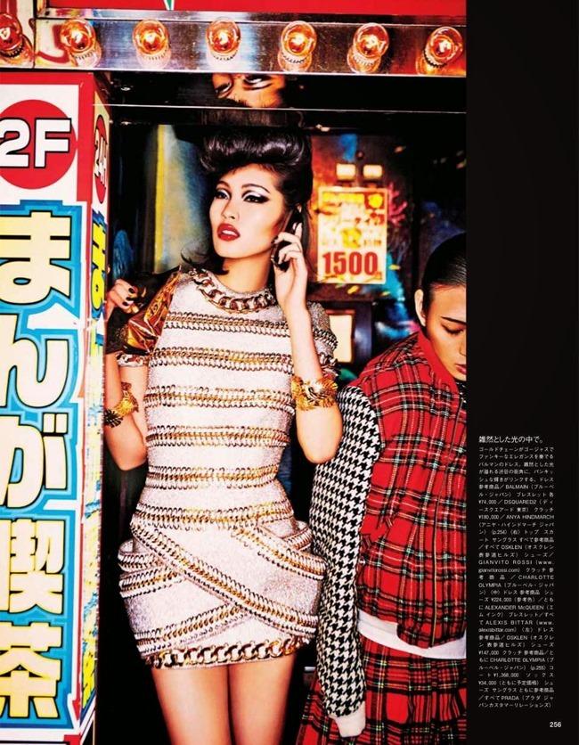 VOGUE JAPAN Tokyo Neon Girls by Ellen von Unwerth. Elizabeth Sulcer, July 2014, www.imageamplified.com, Image amplified (14)