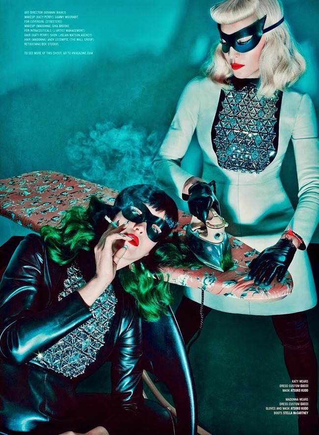 V MAGAZINE Madonna & Katy Perry in Bonding Session by Steven Klein. Arianne Phillips, Summer 2014, www.imageamplified.com, Image Amplified (1)
