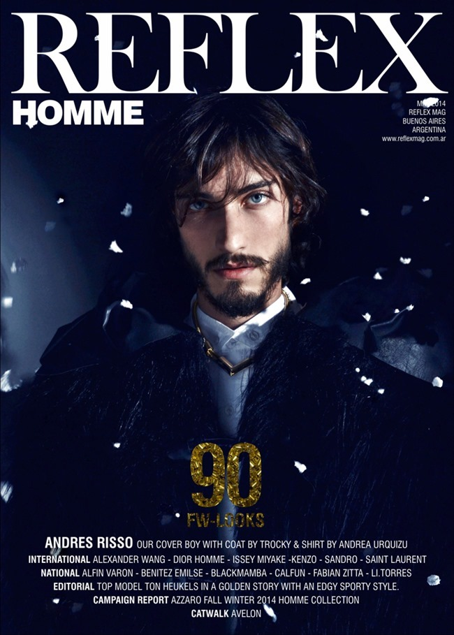 REFLEX HOMME MAGAZINE Andres Risso by Ari Mendes. Summer 2014, www.imageamplified.com, image Amplified (1)