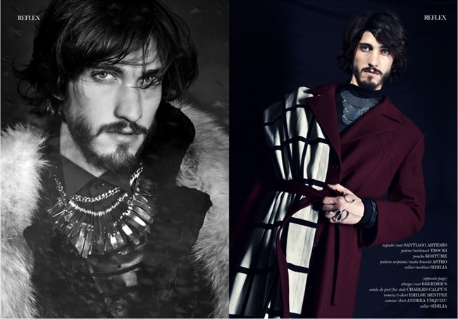 REFLEX HOMME MAGAZINE Andres Risso by Ari Mendes. Summer 2014, www.imageamplified.com, image Amplified (6)