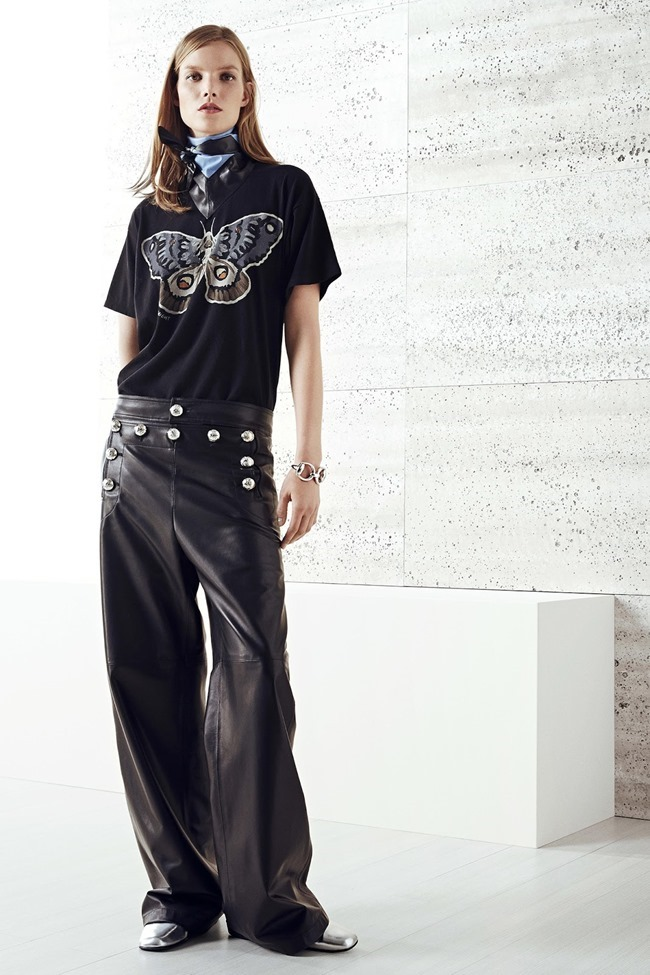 COLLECTION Nadja Bender, Ine Neffs & Suvi Koponen for Gucci Resort 2015. www.imageamplified.com, Image Amplified (10)