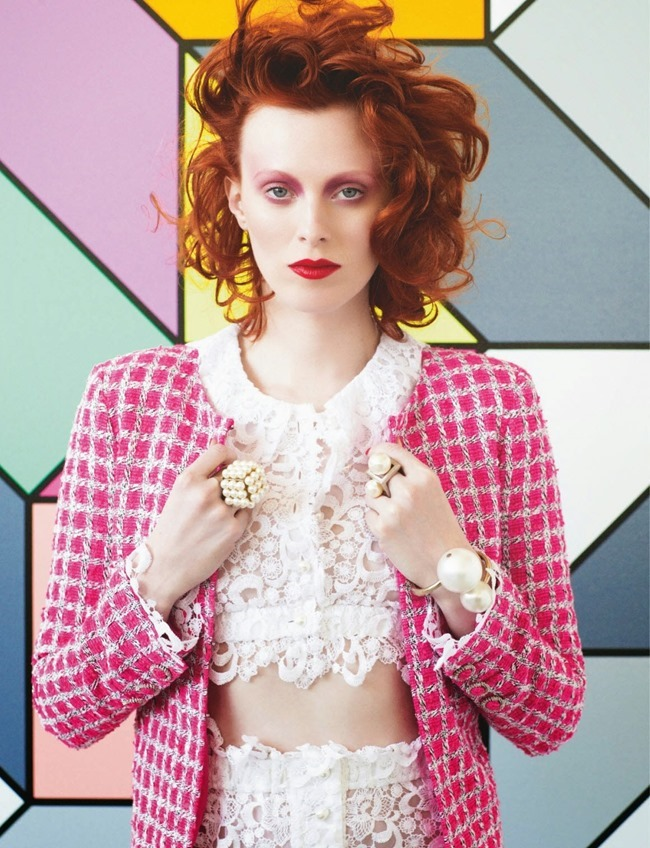 NUMERO MAGAZINE Karen Elson in Sarah Morris by Victor Demarchelier. Charles Varenne, July 2014, www.imageamplified.com, Image Amplified (5)