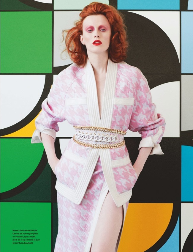 NUMERO MAGAZINE Karen Elson in Sarah Morris by Victor Demarchelier. Charles Varenne, July 2014, www.imageamplified.com, Image Amplified (12)