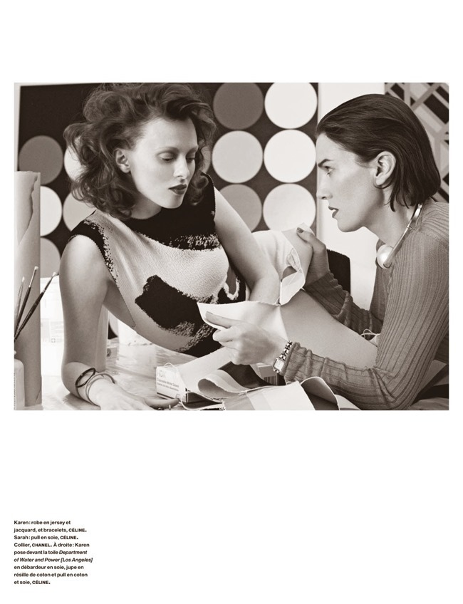 NUMERO MAGAZINE Karen Elson in Sarah Morris by Victor Demarchelier. Charles Varenne, July 2014, www.imageamplified.com, Image Amplified (7)