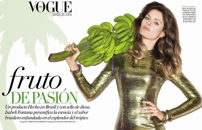 VOGUE MEXICO Isabeli Fontana in Fruto De Pasion by Terry Richardson. Sarah Gore Reeves, June 2014, www.imageamplified.com, Image Amplified (6)