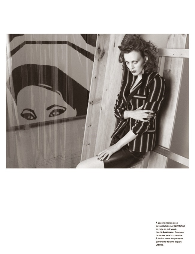 NUMERO MAGAZINE Karen Elson in Sarah Morris by Victor Demarchelier. Charles Varenne, July 2014, www.imageamplified.com, Image Amplified (9)