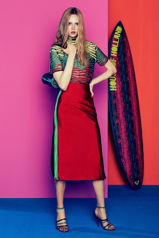 COLLECTION Josefin Gustafsson & Holly Rose for House of Holland Resort 2015. www.imageamplified.com, Image amplified (15)