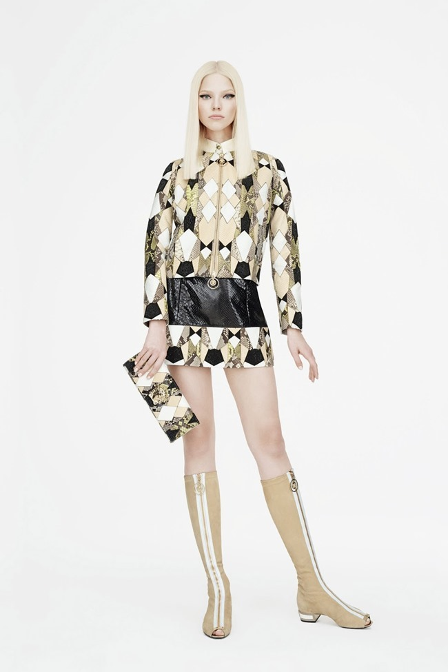 COLLECTION Sasha Luss for Versace Resort 2015. www.imageamplified.com, Image Amplified (5)