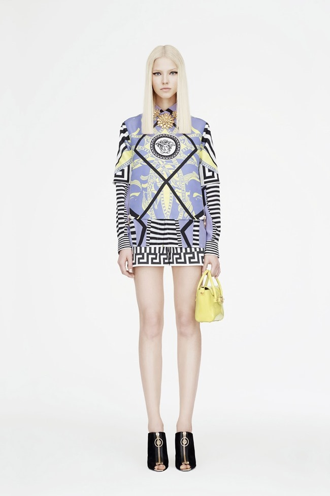 COLLECTION Sasha Luss for Versace Resort 2015. www.imageamplified.com, Image Amplified (20)