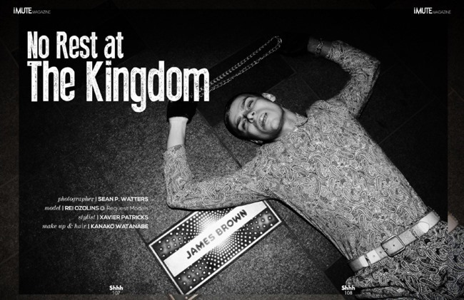 IMUTE MAGAZINE Rei Ozolins in No Rest At The Kingdom by Sean P. Watters by Xavier Patricks, Summer 2014, www.imageamplified.com, Image Amplified (2)