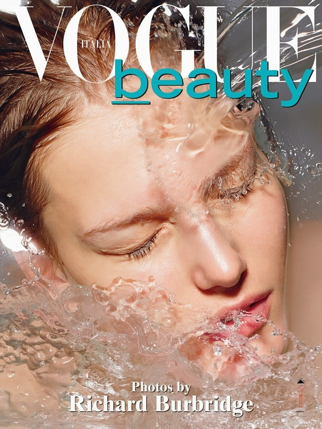 VOGUE ITALIA Beauty by Richard Burbridge. Robbie Spencer, June 2014, www.imageamplified.com, Image Amplified (8)