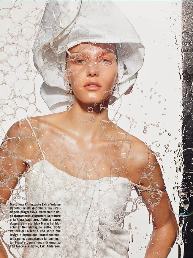 VOGUE ITALIA Beauty by Richard Burbridge. Robbie Spencer, June 2014, www.imageamplified.com, Image Amplified (2)