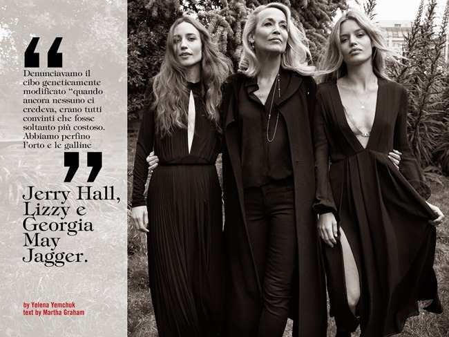 VOGUE ITALIA Jerry Hall, Lizzy & Georgia May Jagger by Yelena Yemchuk. Cathy Kasterine, June 2014, www.imageamplified.com, Image Amplified (10)
