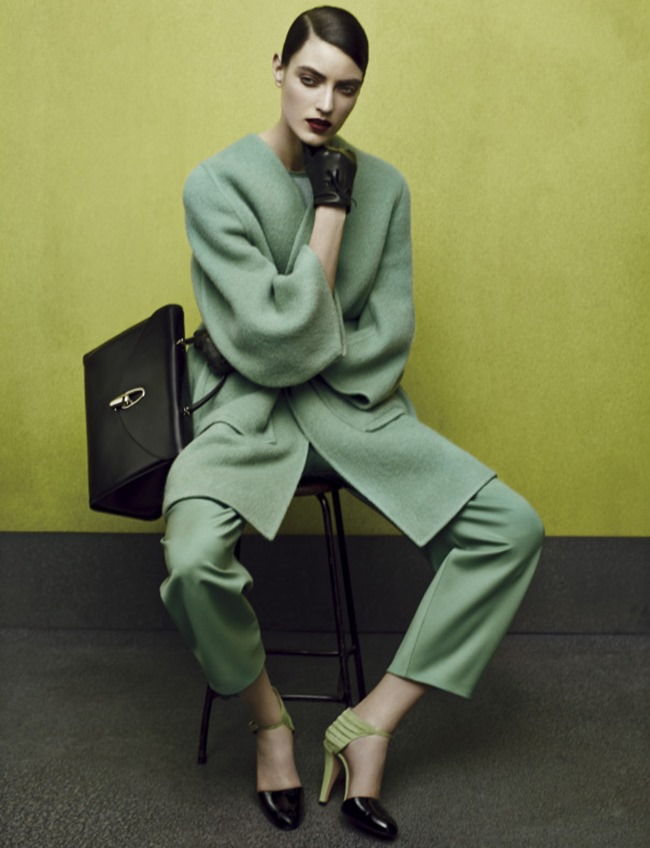 CAMPAIGN George Alsford & Marikka Juhler for Giorgio Armani Fall 2014 by Solve Sundsbo, www.imageamplified.com, Image Amplified (1)