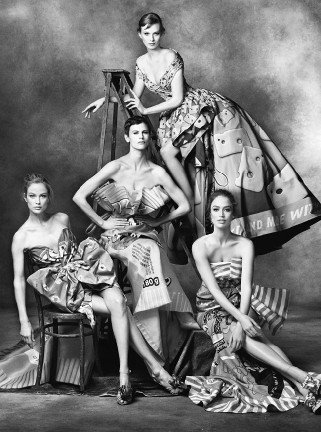 CAMPAIGN Moschino Fall 2014 by Steven Meisel. Carlyne Cerf de Dudzeele, www.imageamplified.com, Image Amplified (4)