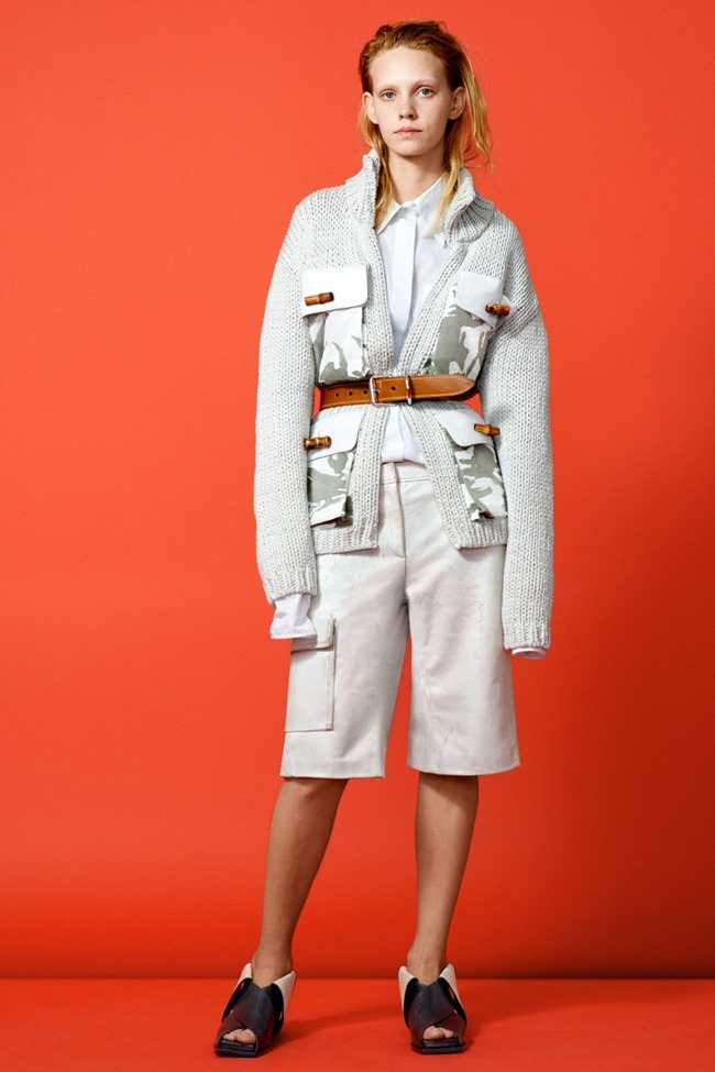 COLLECTION Charlotte Nolting, Ondria Hardin & Larissa Marchiori for Acne Studios Resort 2015. www.imageamplified.com, Image Amplified (1)