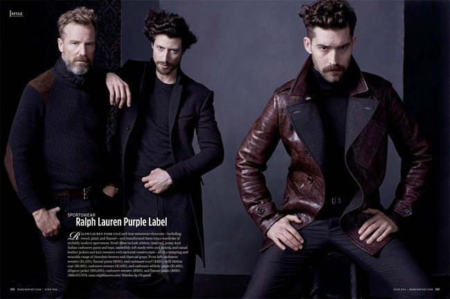 ROBB REPORT Chris Brown, Jonas Mason & Rainer Andreeson in Men's Fashion by David Roemer. Fall 2014, www.imageamplified.com, Image Amplified (10)