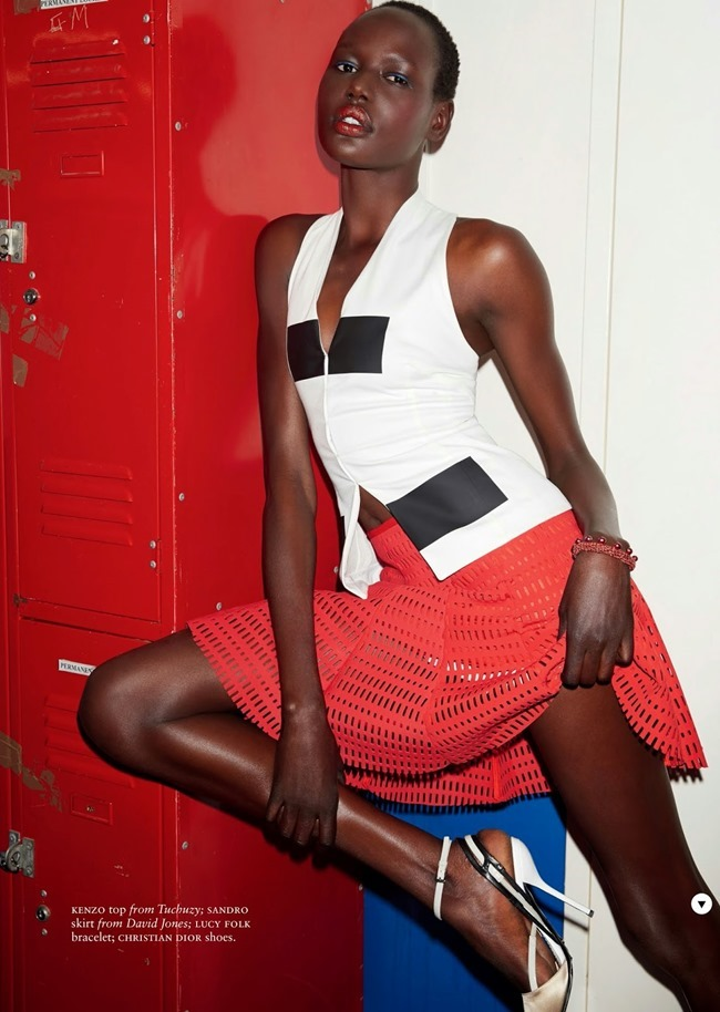 RUSSH MAGAZINE Ajak Deng in She's Got Game by James Nelson. Bille Iveson, July 2014, www.imageamplified.com, Image Amplified (6)