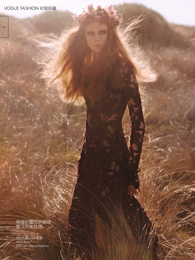 VOGUE CHINA Kati Nescher & Natalie Westling in Smells Like Teen Spirit by Mikael Jansson. Anastasia Barbieri, July 2014, www.imageamplified.com, Image Amplified (19)