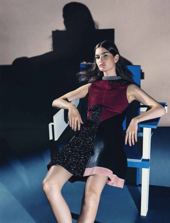 VOGUE GERMANY Ophelie Guillemand by Sebastian Kim. Katie Mossman, July 2014, www.imageamplified.com, Image Amplified (6)