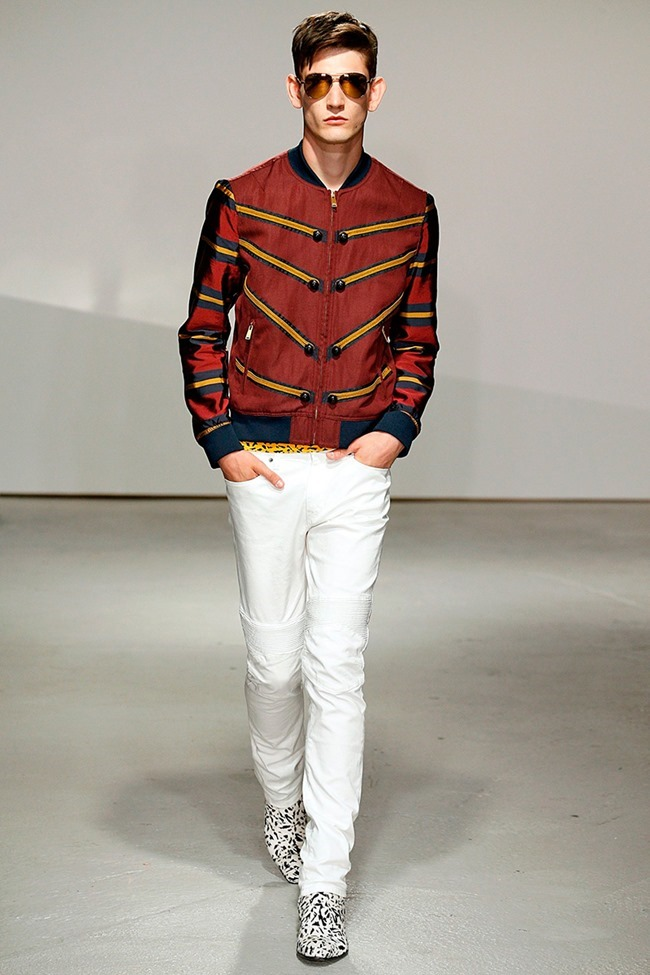 LONDON COLLECTIONS MEN Kent & Curwen Spring 2015. www.imageamplified.com, Image Amplified (1)