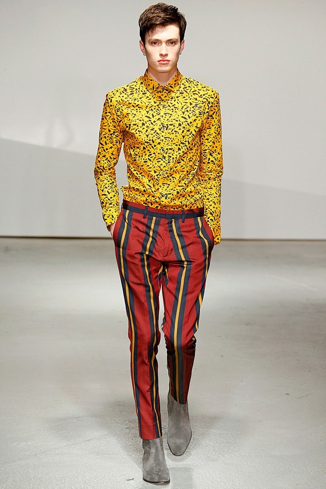 LONDON COLLECTIONS MEN Kent & Curwen Spring 2015. www.imageamplified.com, Image Amplified (2)