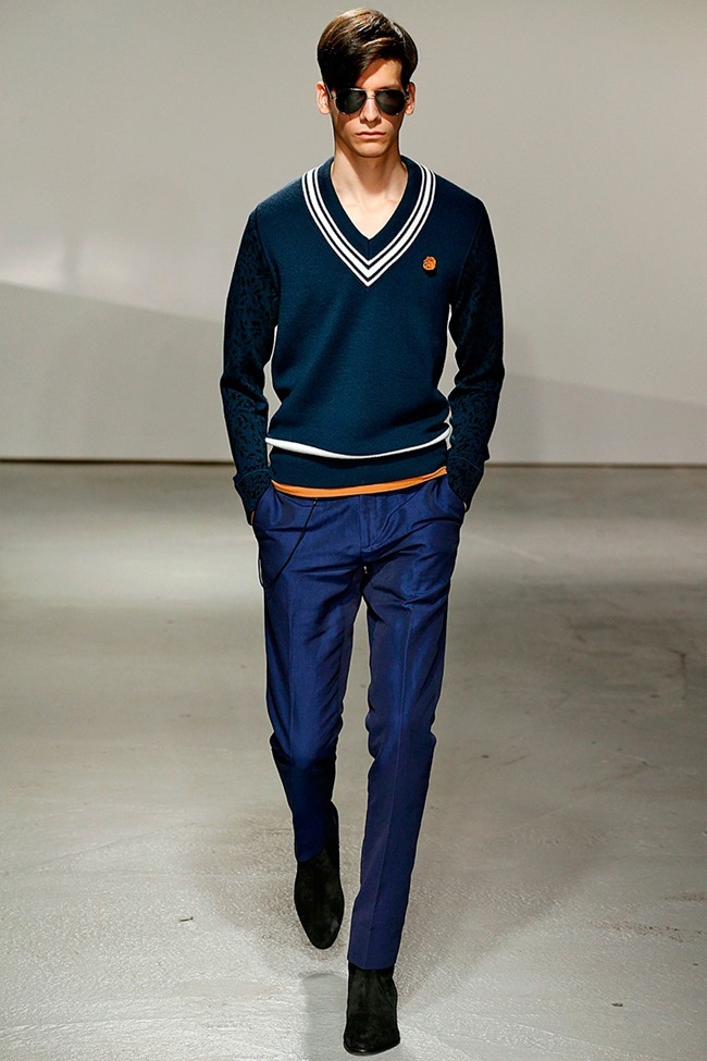 LONDON COLLECTIONS MEN Kent & Curwen Spring 2015. www.imageamplified.com, Image Amplified (20)