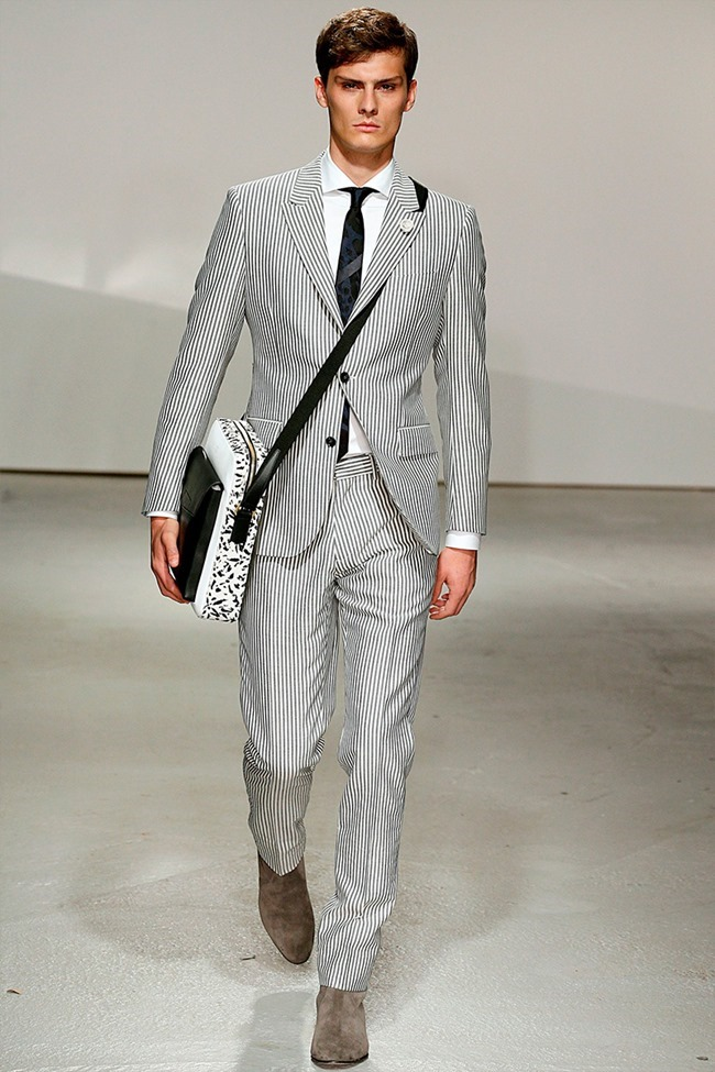LONDON COLLECTIONS MEN Kent & Curwen Spring 2015. www.imageamplified.com, Image Amplified (27)