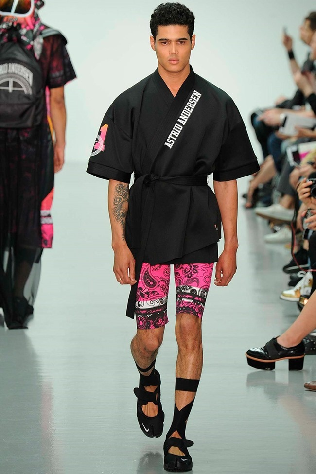 LONDON COLLECTIONS MEN Astrid Andersen Spring 2015. www.imageamplified.com, Image Amplified (9)