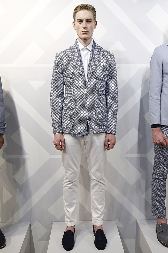LONDON COLLECTIONS MEN Hardy Amies Spring 2015. www.imageamplified.com, Image Amplified (6)