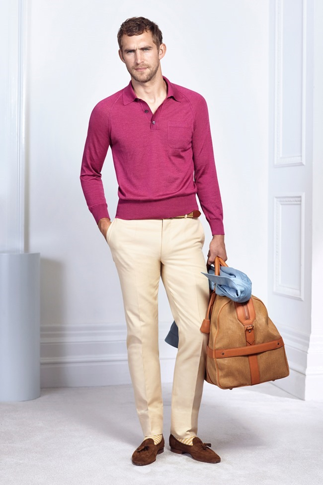 COLLECTION Will Chalker & Anton Worman for Dunhill Spring 2015. www.imageamplified.com, Image Amplified (10)