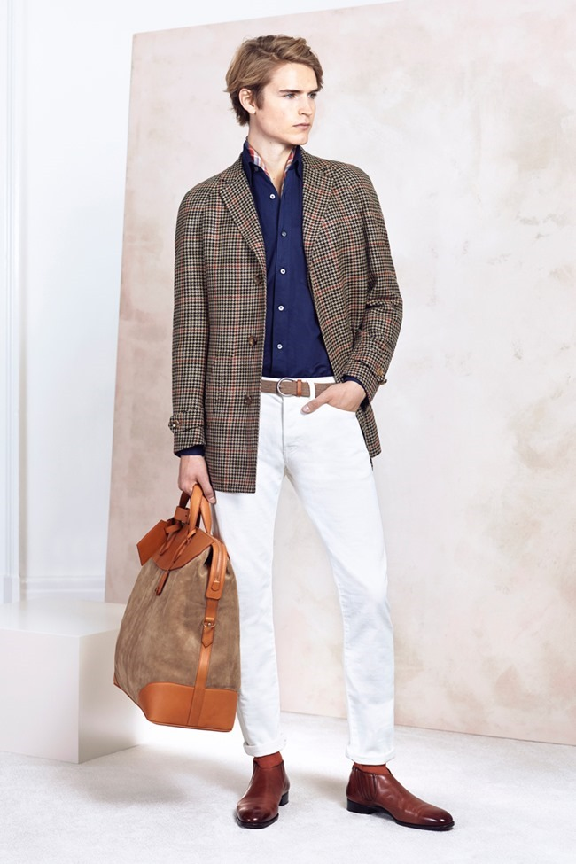 COLLECTION Will Chalker & Anton Worman for Dunhill Spring 2015. www.imageamplified.com, Image Amplified (13)