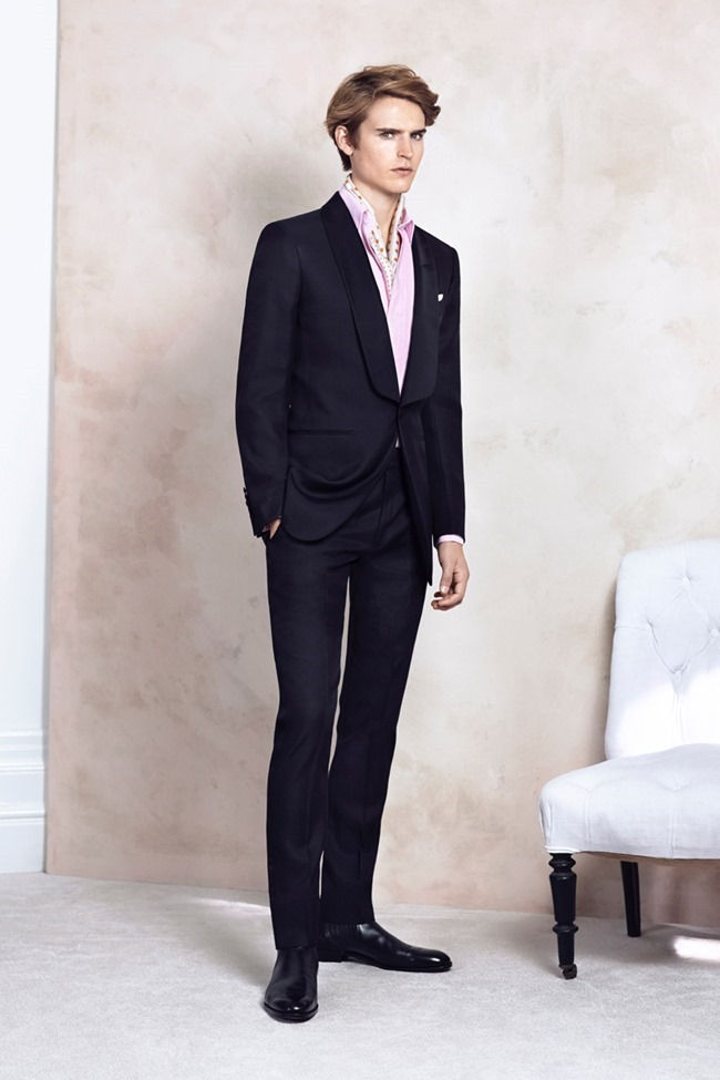 COLLECTION Will Chalker & Anton Worman for Dunhill Spring 2015. www.imageamplified.com, Image Amplified (18)