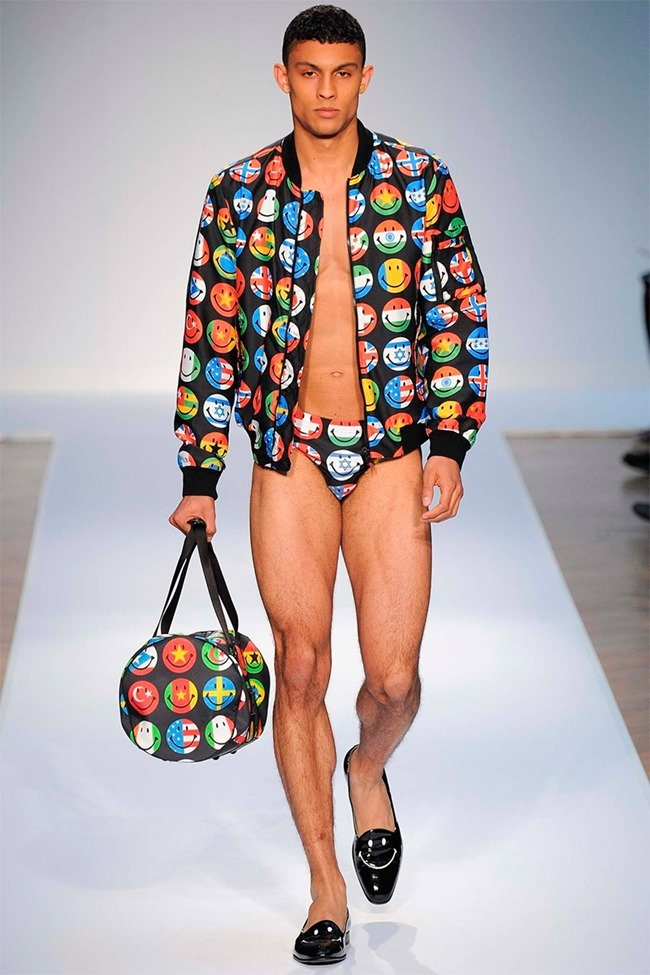 LONDON COLLECTIONS MEN Moschino Spring 2015. www.imageamplified.com, Image Amplified (42)