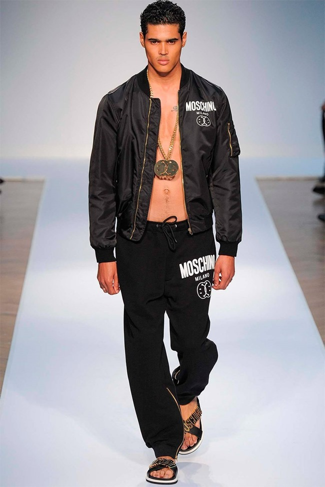 LONDON COLLECTIONS MEN Moschino Spring 2015. www.imageamplified.com, Image Amplified (44)