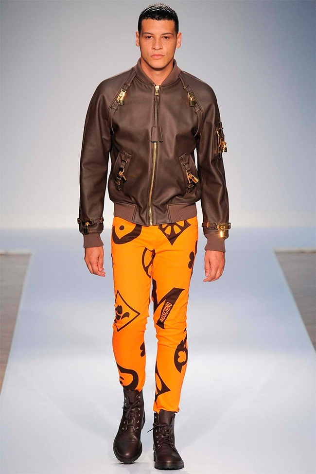 LONDON COLLECTIONS MEN Moschino Spring 2015. www.imageamplified.com, Image Amplified (52)