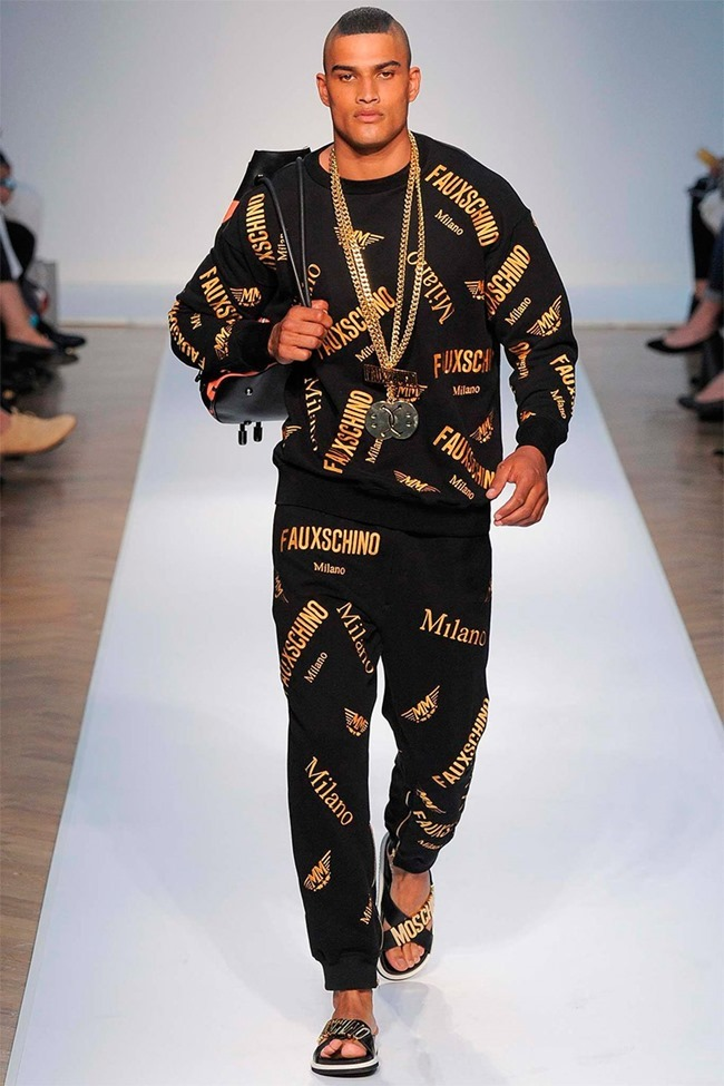 LONDON COLLECTIONS MEN Moschino Spring 2015. www.imageamplified.com, Image Amplified (2)