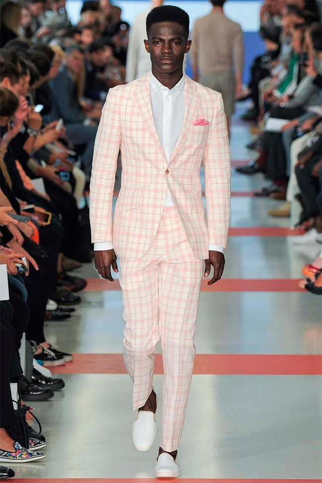LONDON COLLECTIONS MEN Richard James Spring 2015. www.imageamplified.com, Image Amplified (1)