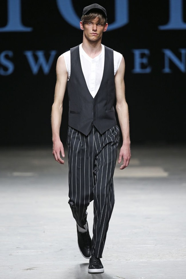 LONDON COLLECTIONS MEN Tiger of Sweden Spring 2015. www.imageamplified.com, Image Amplified (2)