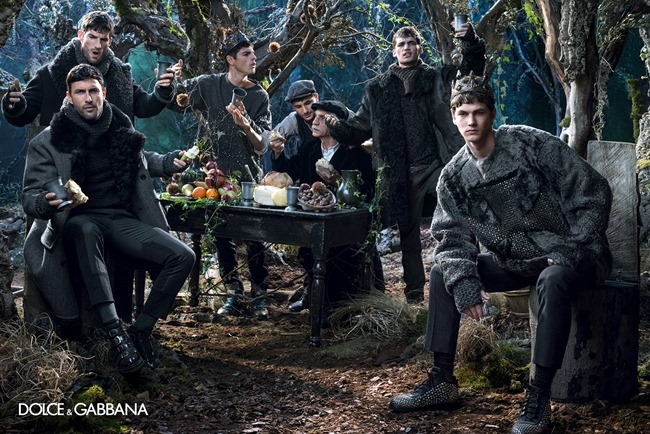 CAMPAIGN Dolce & Gabbana Menswear Fall 2014 by Domenico Dolce. www.imageamplified.com, Image Amplified (5)
