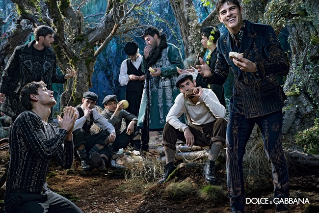 CAMPAIGN Dolce & Gabbana Menswear Fall 2014 by Domenico Dolce. www.imageamplified.com, Image Amplified (6)