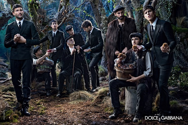 CAMPAIGN Dolce & Gabbana Menswear Fall 2014 by Domenico Dolce. www.imageamplified.com, Image Amplified (8)